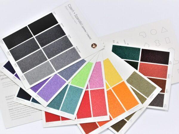 Fluffo kleurenkaart